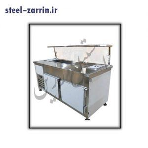 تاپینگ پیتزا | تجهیزات آشپزخانه صنعتی استیل زرین