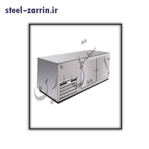 فریزر با رویه میزکار | تجهیزات آشپزخانه صنعتی استیل زرین