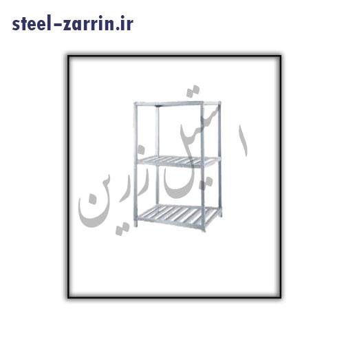 قفسه ظروف بزرگ صنعتی | استیل زرین