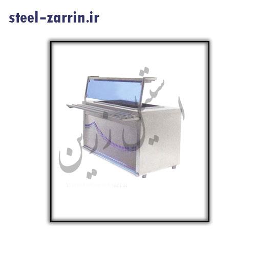 کانتر سرد | تجهیزات آشپزخانه صنعتی استیل زرین